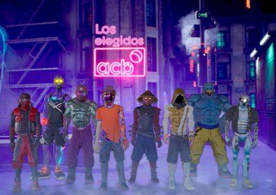 LOS ELEGIDOS × ACB