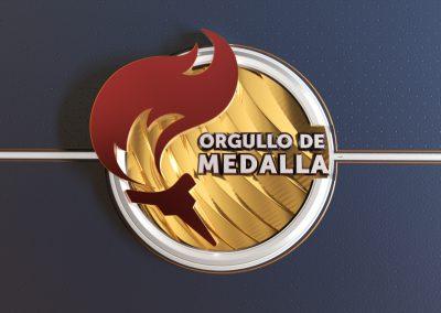 ORGULLO DE MEDALLA × RTVE
